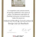 NFRC Gold Safety Award