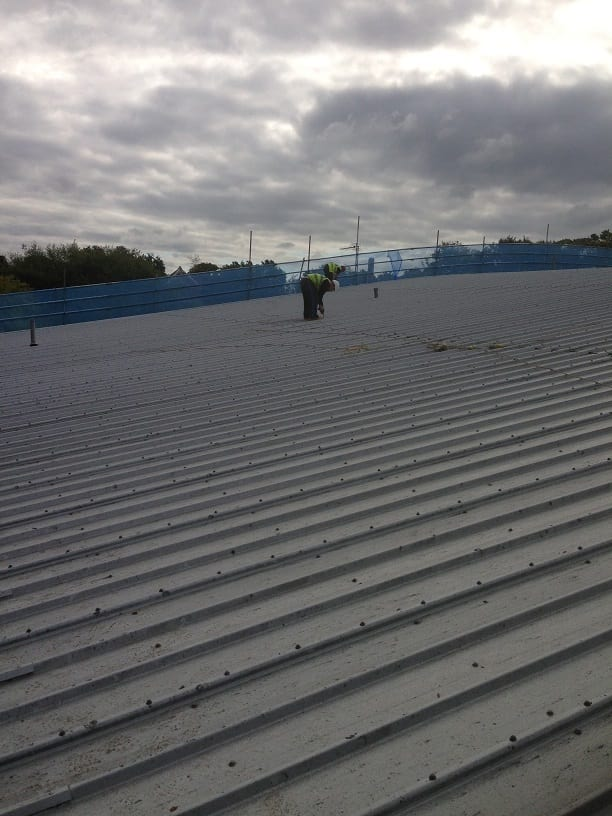 Curved Roof Refurbishment